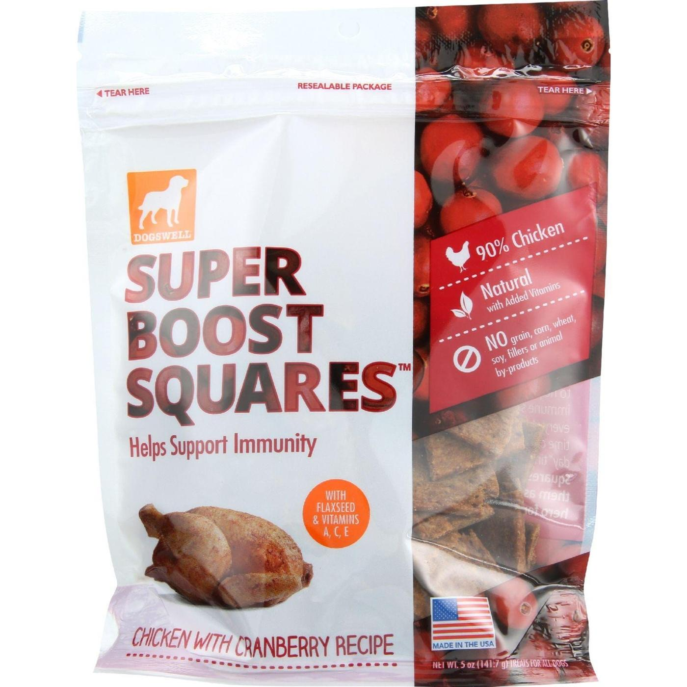 Dogswell Super Boost Bites Chicken Dog Treats, 12 oz.